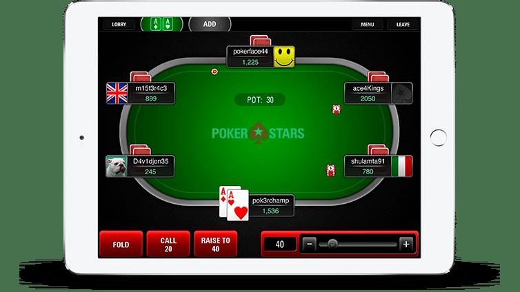 salle de poker pokerstars