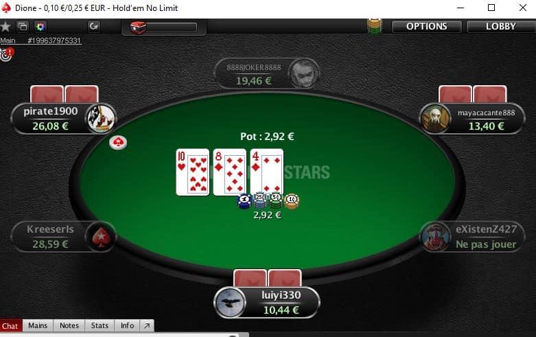 joueur de poker pro