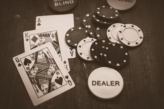 tournoi de poker dans un casino