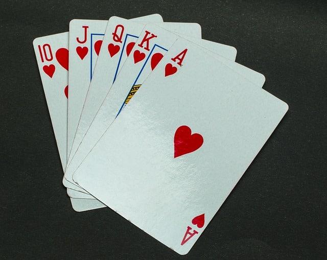 Les meilleures combinaisons au poker