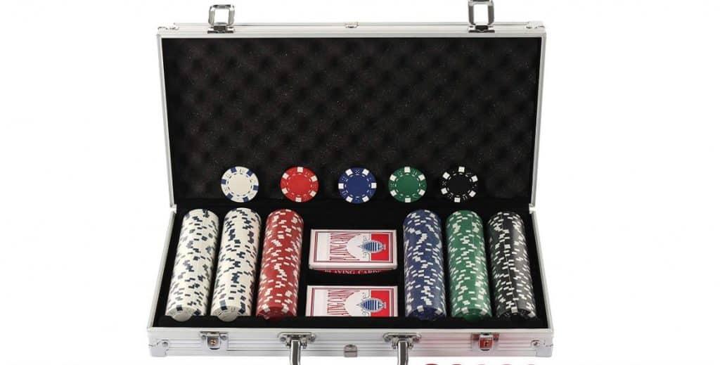 malette de jetons de poker
