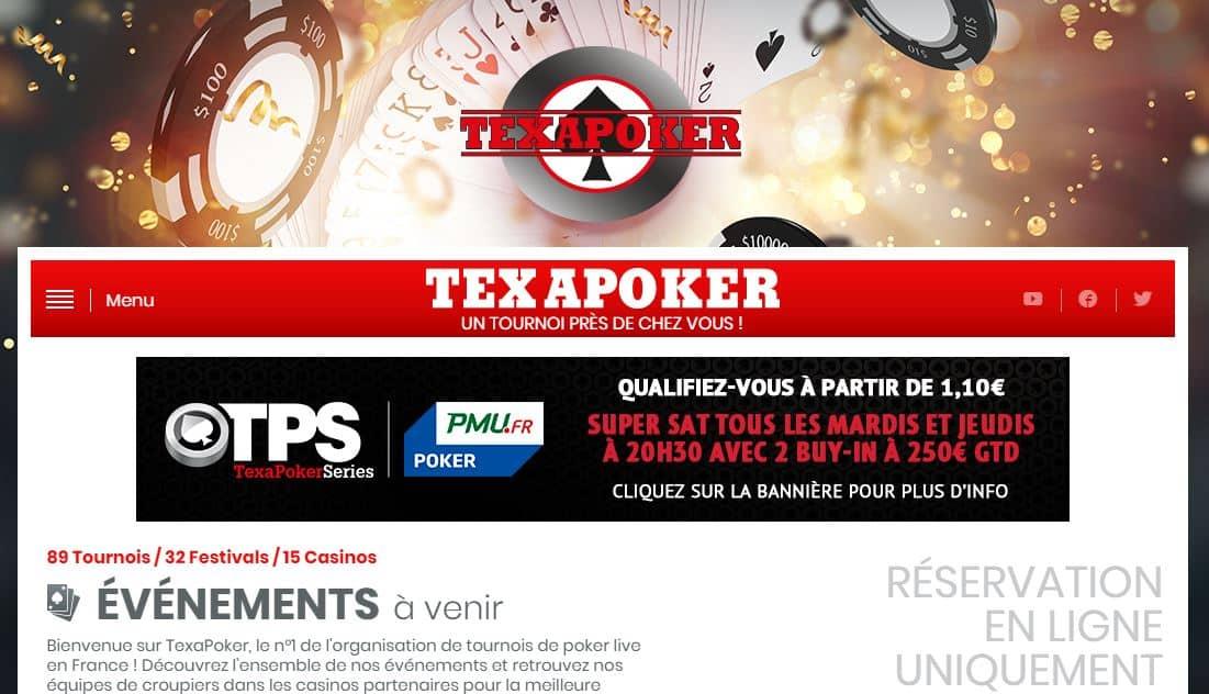 tournoi texapoker