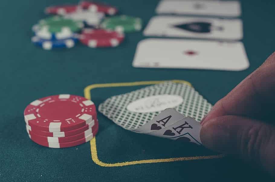 main jouée au poker