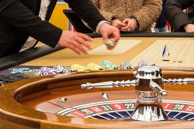 roulette dans le casino